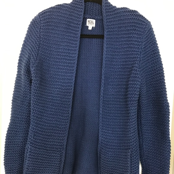 Neal Sperling Sweaters - Blue Knit Sweater